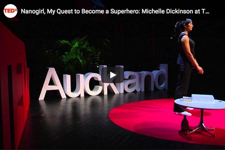 Dr Michelle Dickinson: Nanogirl, my quest to become a superhero