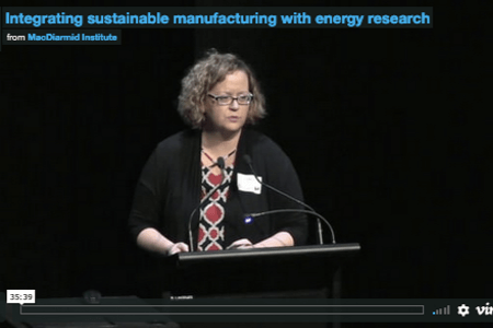 Integrating sustainable manufacturing with energy research