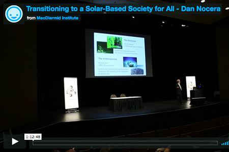 Transitioning to a Solar-Based Society for All - Dan Nocera