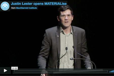 Justin Lester opens MATERIALise 2018