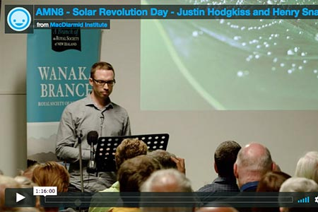 AMN8 - Solar Revolution Day - Justin Hodgkiss and Henry Snaith