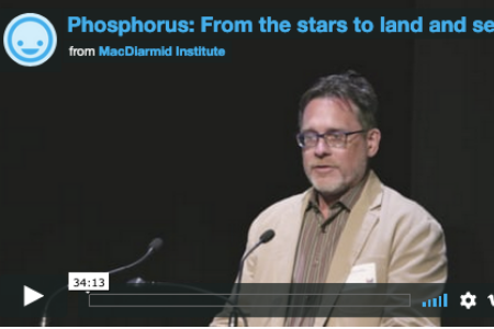 Phosphorus: From stars to land and sea