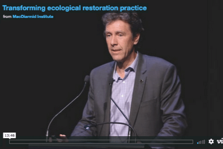 Transforming ecological restoration practice