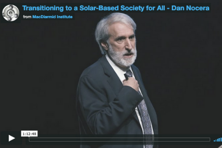 Transitioning to a solar-based society