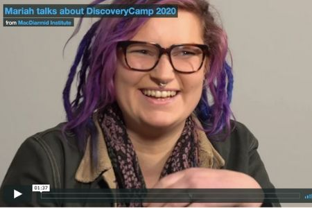 Mariah talks about DiscoveryCamp 2020