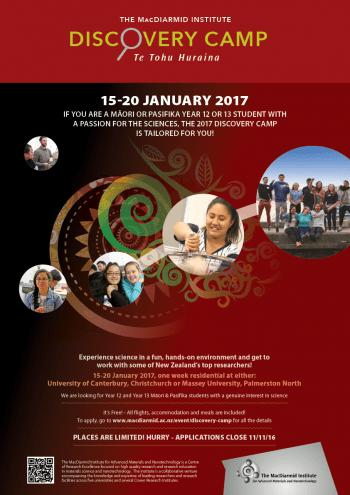 DiscoveryCamp – Te Tohu Huraina 2017