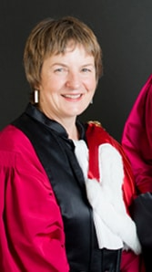 Alison Downard Honorary Doctorate
