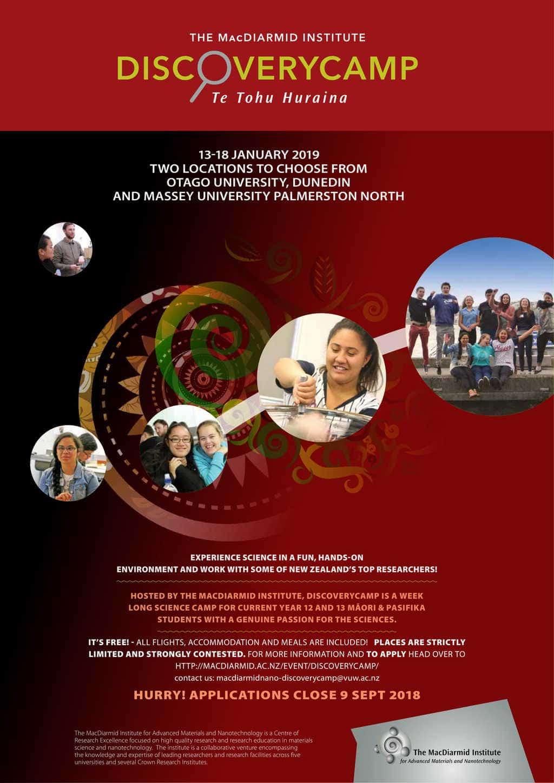 DiscoveryCamp 2019 – Te Tohu Huraina