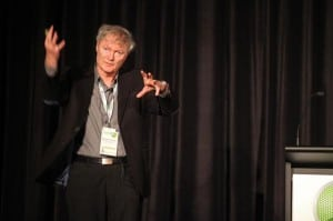 First AMN-7 plenary speaker, Prof Michael Graetzel