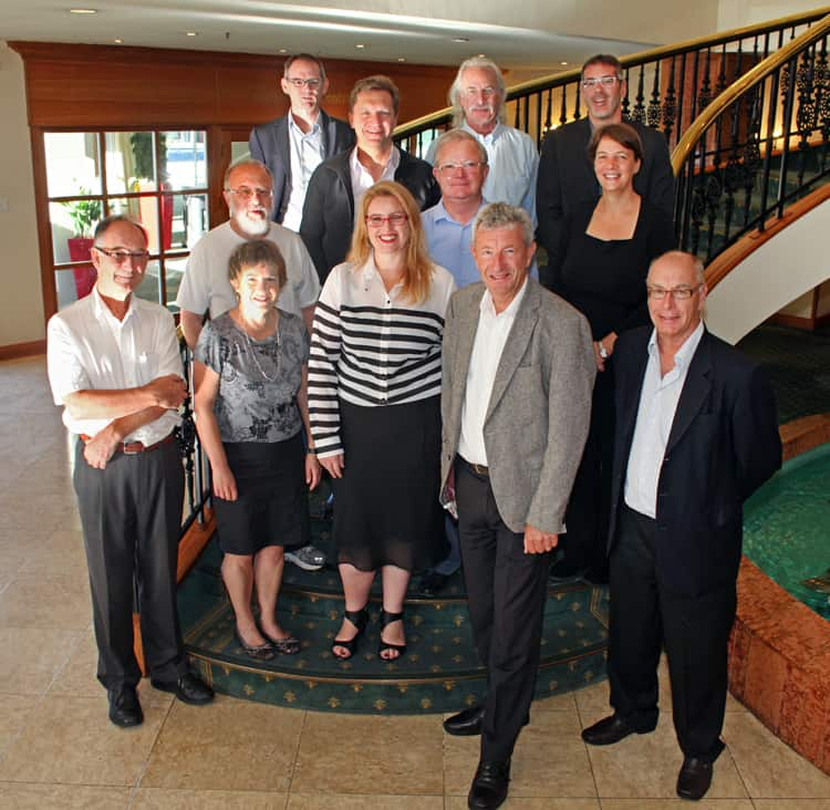 Members of the ISAB and the Governance Board met at AMN-7 in Nelson in February 2015