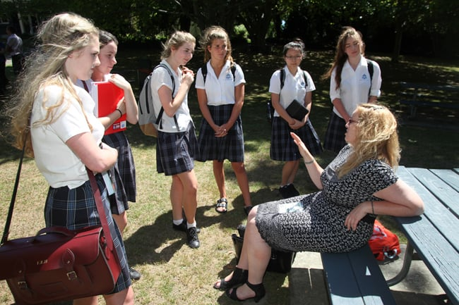Outreach – Institute Investigators visit Nelson College for Girls