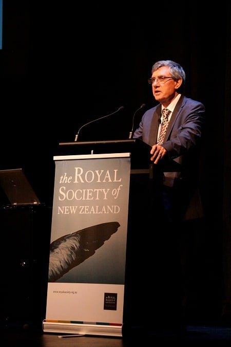 Professor Sir Paul Callaghan's funeral service