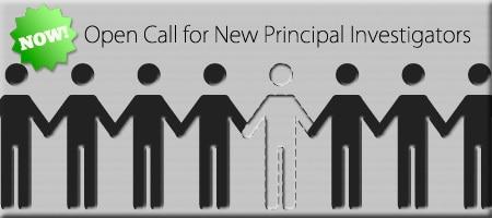 Open Call for New Principal Investigators