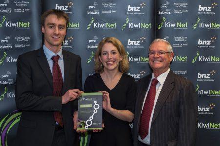 Carla Meledandri wins KiwiNet Award
