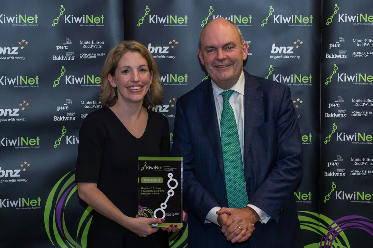 MacDiarmid Investigator wins at KiwiNet Awards