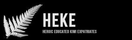 HEKE: Heroic Educated Kiwi Expatriates