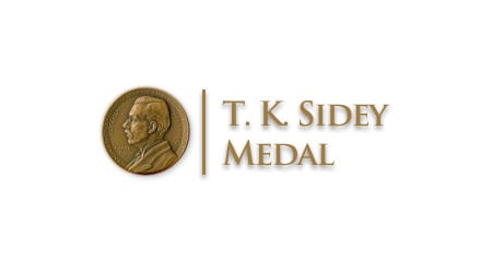 Roger Reeves Awarded the T. K. Sidey Medal