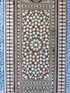 Door from Topkapi Palace, Istanbul, Turkey